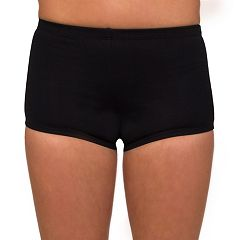Women's Danskin Solid Boy-Cut Shorts