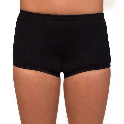 Women's Danskin Solid Boy-Cut Shorts