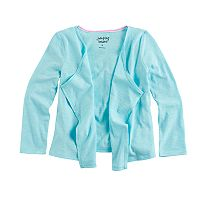 Girls 4-10 Jumping Beans® Open Front Cardigan