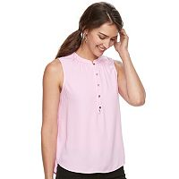 Women's Apt. 9® Sleeveless Henley Top