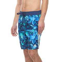 Men's adidas Hibiscus Floral Microfiber Volley Shorts