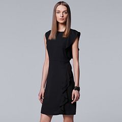 Women's Simply Vera Vera Wang Ruffle Dress