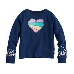 Girls 4-10 Jumping Beans® Graphic Pullover Sweatshirt