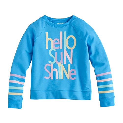 Girls 4-10 Jumping Beans® Graphic Pullover Sweatshirt