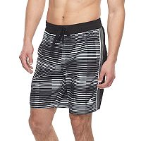 Men's adidas Vara Striped Microfiber Volley Shorts