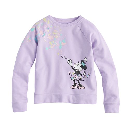 Disney's Minnie Mouse Girls 4-10 Pullover Sweatshirt Top by Jumping Beans®