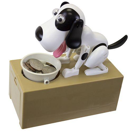 J.B. Nifty Mechanical Dog Bank