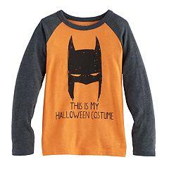 Boys 4-10 Jumping Beans® DC Comics Batman 'This Is My Halloween Costume' Raglan Tee