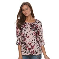Women's Croft & Barrow® Patterned Tunic Top