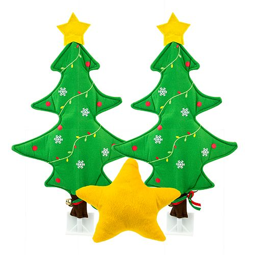 J.B. Nifty Christmas Tree Auto Décor Kit