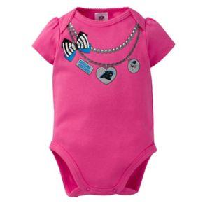 Baby Carolina Panthers 3-Pack Love Bodysuit Set