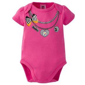 Baby Pittsburgh Steelers 3-Pack Love Bodysuit Set