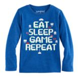 "Boys 4-10 Jumping Beans® Atari Space Invaders ""Eat Sleep Game Repeat"" Graphic Tee"
