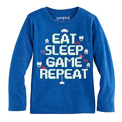 Boys 4-10 Jumping Beans® Atari Space Invaders 'Eat Sleep Game Repeat' Graphic Tee