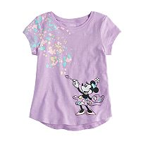 Disney's Minnie Mouse Girls 4-10 Painter Graphic Tee by Jumping Beans®