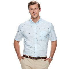 Big & Tall Croft & Barrow® Regular-Fit Easy-Care Button-Down Shirt