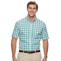 Big & Tall Croft & Barrow® Regular-Fit Easy-Care Button-Down Shirt
