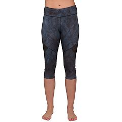 Women's Jockey Sport Illusion Capri Leggings