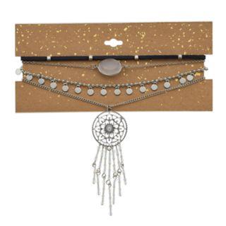 Multistrand Dream Catcher Necklace