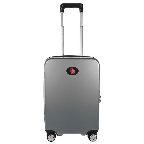 Oklahoma Sooners 22-Inch Hardside Wheeled Carry-On with Charging Port