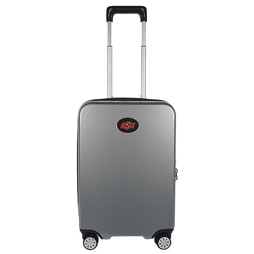 Oklahoma State Cowboys 22-Inch Hardside Wheeled Carry-On with Charging Port