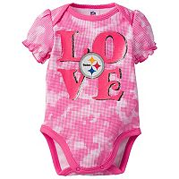 Baby Pittsburgh Steelers Camo Bodysuit