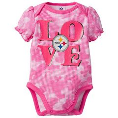 Baby Pittsburgh Steelers Camo Bodysuit