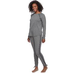 Women's Apt. 9® Pajamas: Lace Trim Track Set