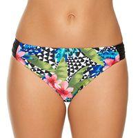 Women's Aqua Couture Tropical Hipster Bikini Bottoms
