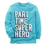 "Toddler Boy Carter's ""Part Time Super Hero"" Tee"