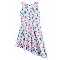 Girls 4-10 Jumping Beans® Asymmetrical Hem Dress