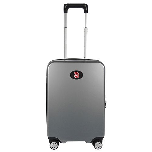 South Dakota Coyotes 22-Inch Hardside Wheeled Carry-On with Charging Port