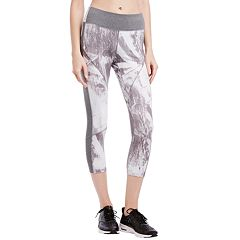 Women's Jockey Sport Graffiti Granite Capri Leggings
