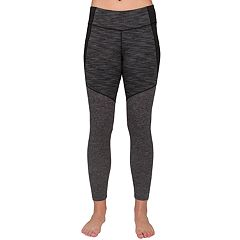 Women's Jockey Sport Gray Jersey Ankle Leggings