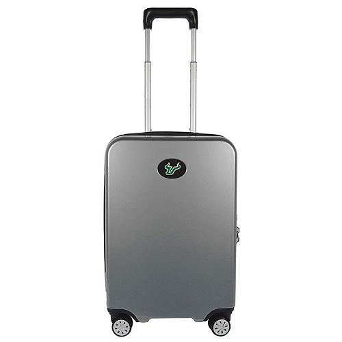 South Florida Bulls 22-Inch Hardside Wheeled Carry-On with Charging Port