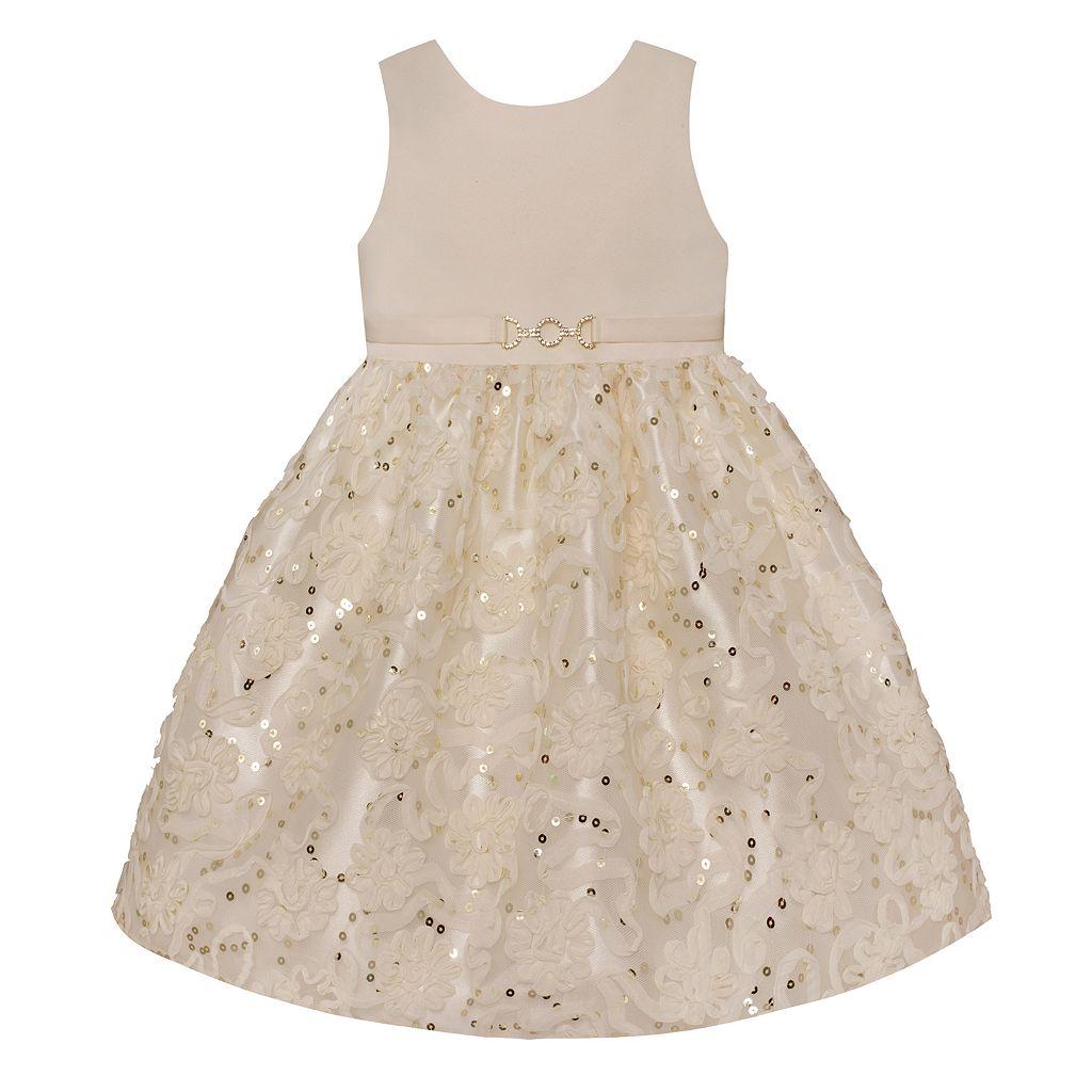 Girls 7-16 & Plus Size American Princess Sequin Soutache Skirt Dress
