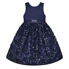 Girls 7-16 & Plus Size American Princess Sequin Soutache Skirt Dress
