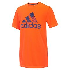 Boys 8-20 adidas Pattern Filled Logo Graphic Tee