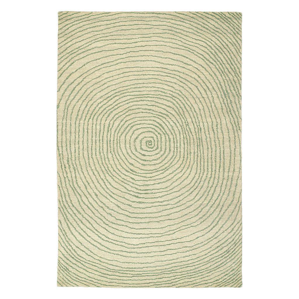 Kaleen Textura Monaco Geometric Wool Rug