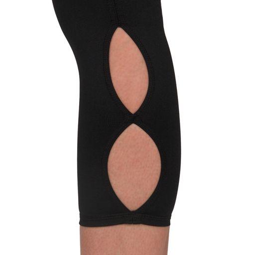 Women's Jockey Sport Solid Keyhole Capri Leggings