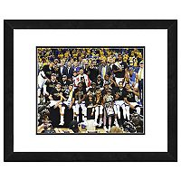 Golden State Warriors 2017 NBA Championship Team Celebration Framed Photo