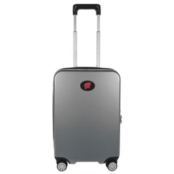 Wisconsin Badgers 22-Inch Hardside Wheeled Carry-On with Charging Port