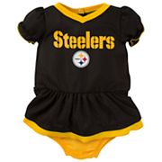 Baby Pittsburgh Steelers Dazzle Dress Set