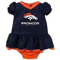 Baby Denver Broncos Dazzle Dress Set
