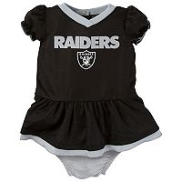 Baby Oakland Raiders Dazzle Dress Set