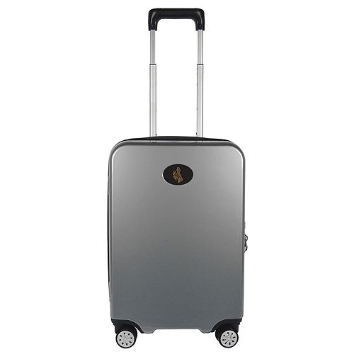 Wyoming Cowboys 22-Inch Hardside Wheeled Carry-On with Charging Port