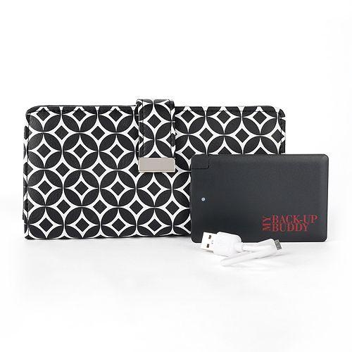 Apt. 9® RFID-Blocking Phone Charging Wallet