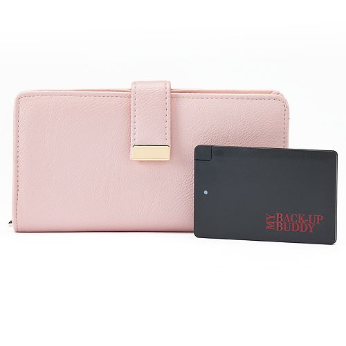 Apt. 9® RFID-Blocking Phone Charging Wallet