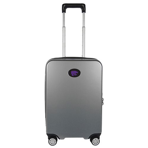 Kansas State Wildcats 22-Inch Hardside Wheeled Carry-On with Charging Port