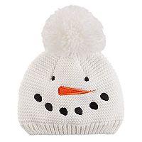 Baby Carter's Snowman Knit Beanie Hat